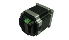 Stepper motor with TXI242 Series integrated driver